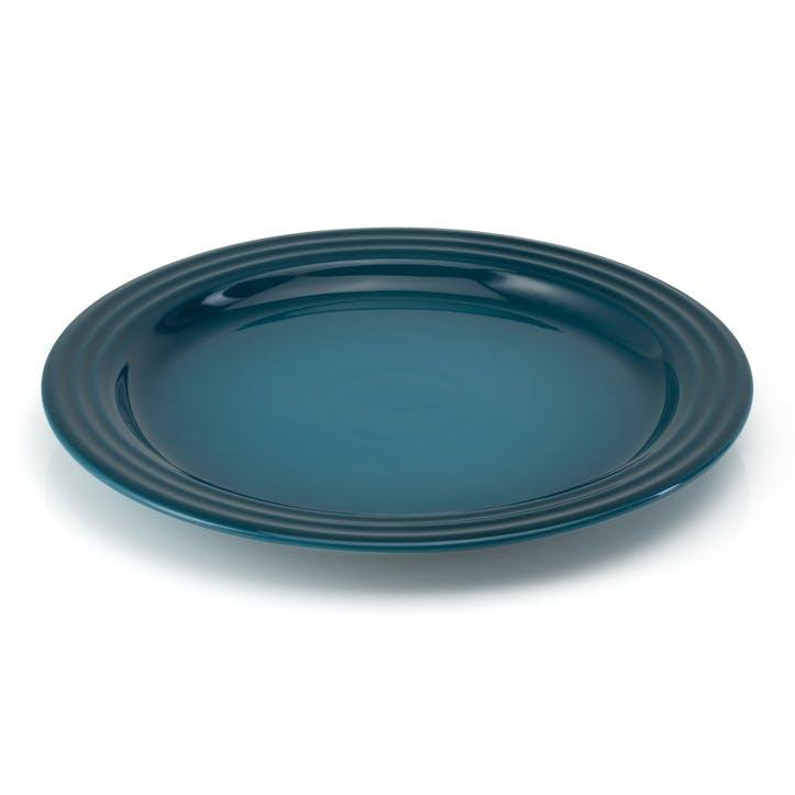 Stoneware Dinner Plate, 27cm, DeepTeal