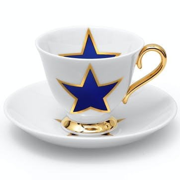 Lucky Stars Tea Cup & Saucer