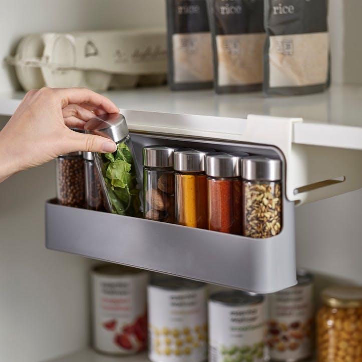 CupboardStore Under-Shelf Spice Rack