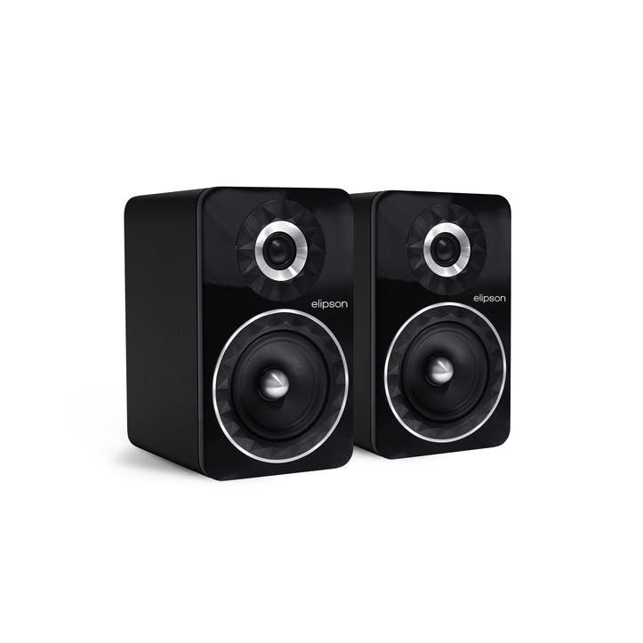 Prestige Facet PF6B Bluetooth Phono Speakers, Black