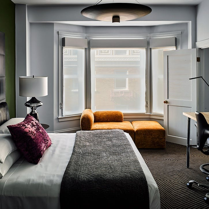 A voucher towards a stay at Hotel Zeppelin for two, San Francisco, USA
