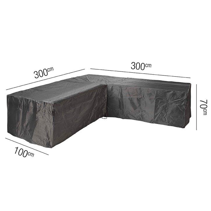 Lounge Set Aerocover, L-Shape, 300 x 300 x 100 x 70cm