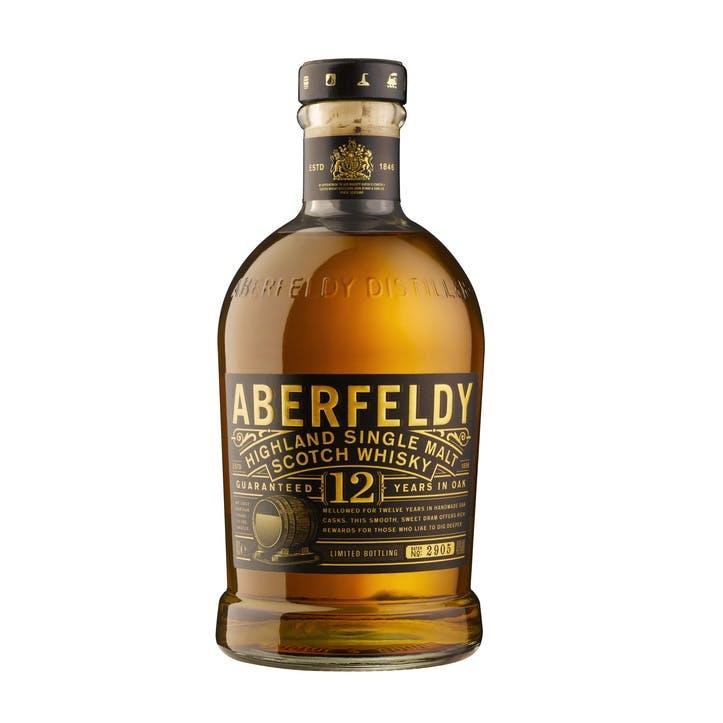 Aberfeldy 12 Year Old Single Malt Whisky 40%