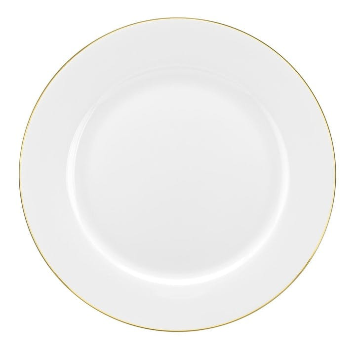 Serendipity Dinner Plate, Set of 4; Gold