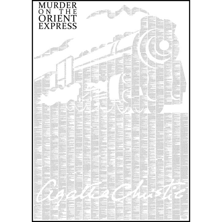 Murder on the Orient Express Print