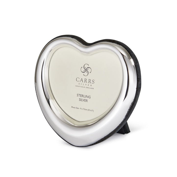 Heart Sterling Silver Photo Frame
