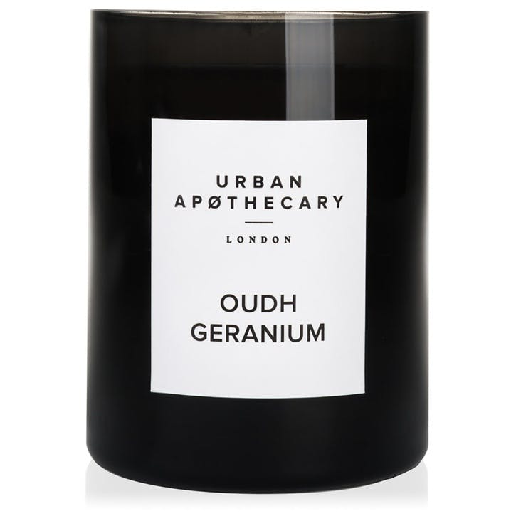Oudh Geranium Luxury Candle, 300g