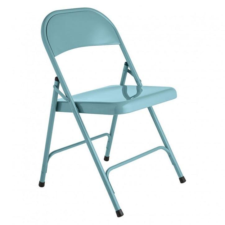 Macadam Folding Chair, Blue