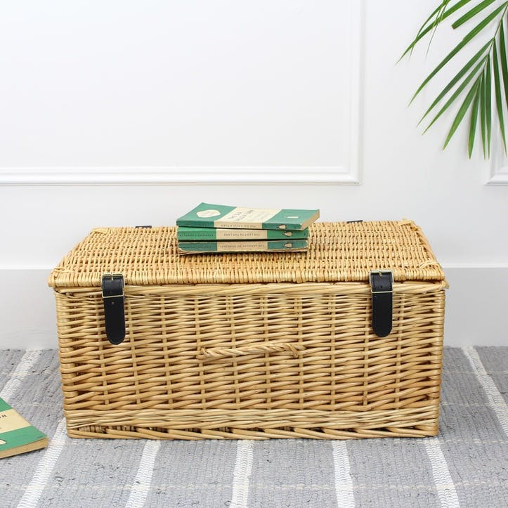 Wicker Hamper - 20 Inch; Natural