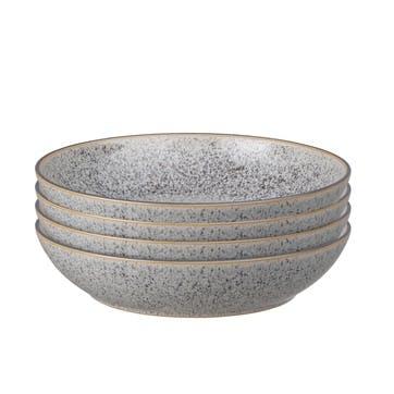 Studio Grey Coupe Pasta Bowl, Set of 4