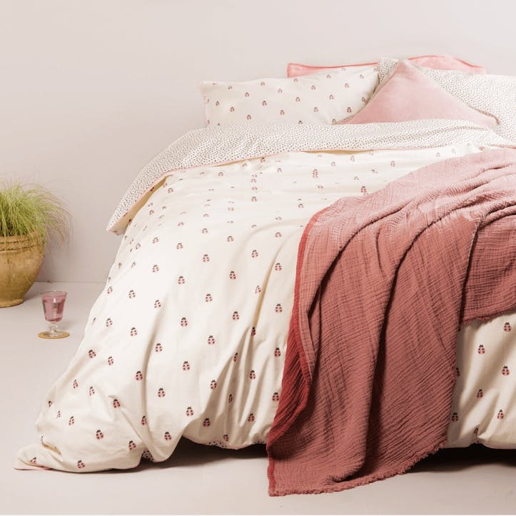 Ladybirds Reversible Bedding Set, Super King