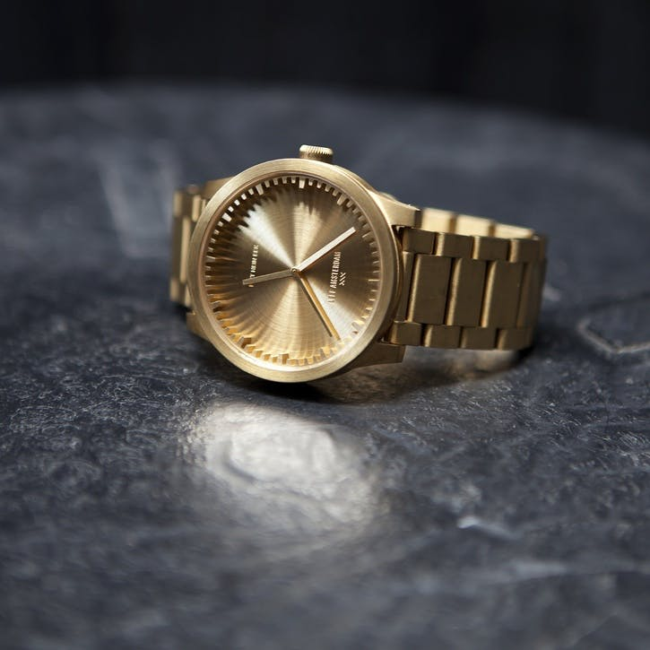Tube Watch S38, Brass