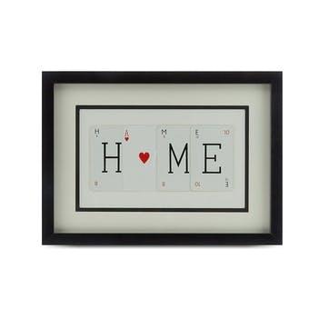 'Home' Word Frame