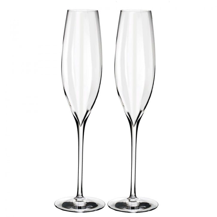 Elegance Optic Champagne Flute, Set of 2