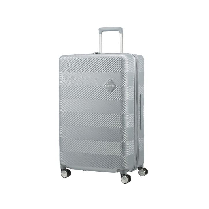 Flylife Spinner Suitcase, 77cm, Sky Silver