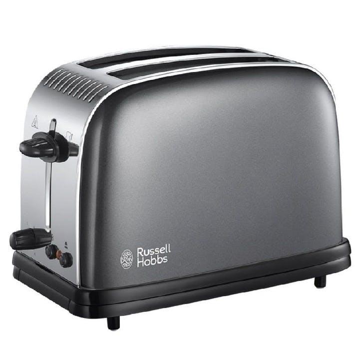 Colours Plus 2 Slice Toaster; Grey