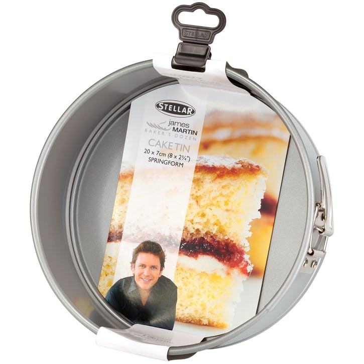 James Martin Bakers Dozen Springform Cake Tin, 20 x 7cm