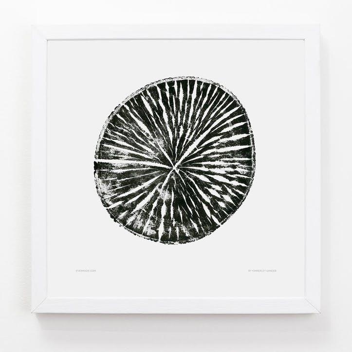 Tree Print Beech, 33cm x 33cm