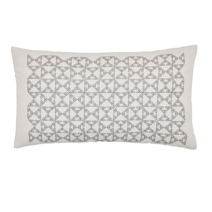 Nova Cushion, Cloud Grey