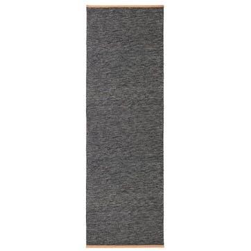 Björk Rug, 80 x 250cm, Dark Grey