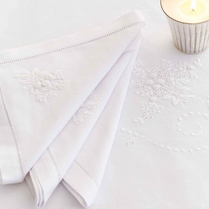Versailles Cotton Napkins, Set of 4