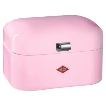 Single Grandy Bread Bin, Pink