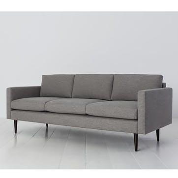 3 Seater Sofa, Model 01, Shadow