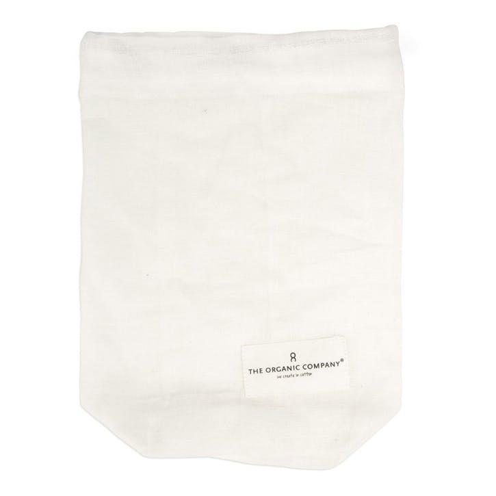 Food Bag, Small, Natural White