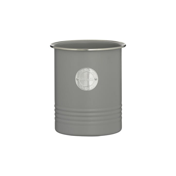 Living Utensil Pot, Grey