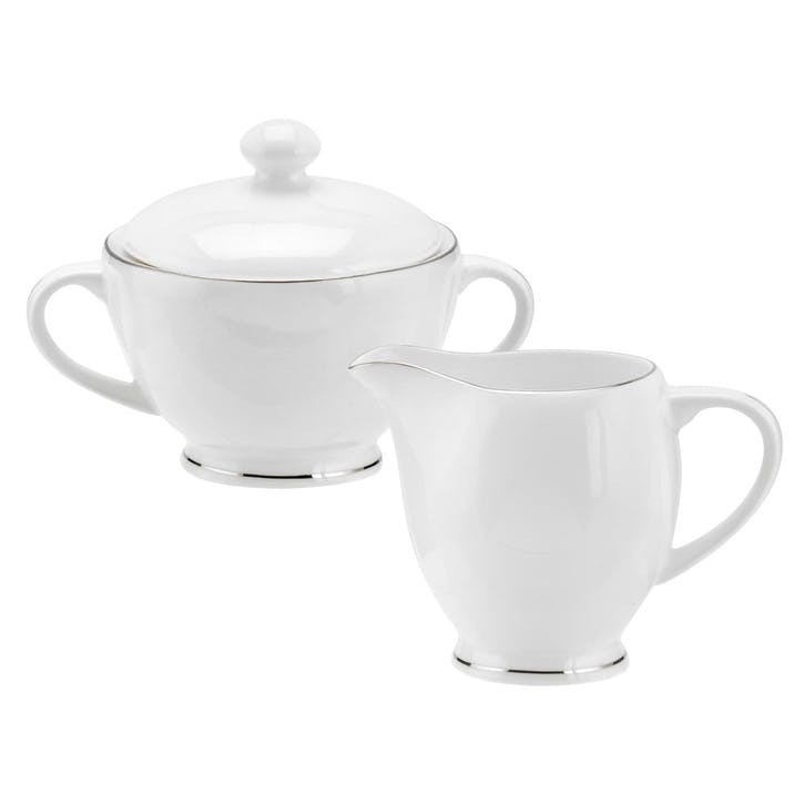 Serendipity Sugar and Cream Jug; Platinum