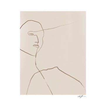 Clay - Anna Johansson Art Print D30cm x H40cm