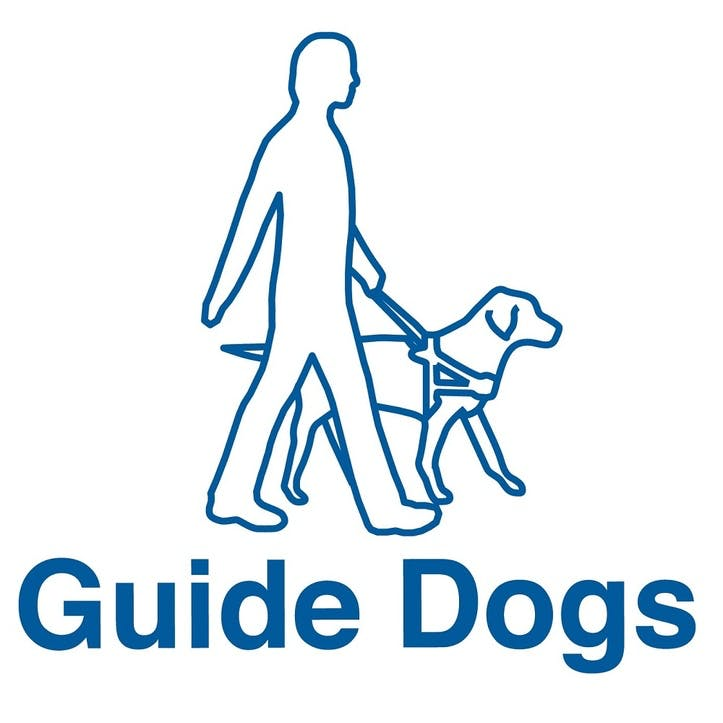 A Donation Towards Guide Dogs for the Blind