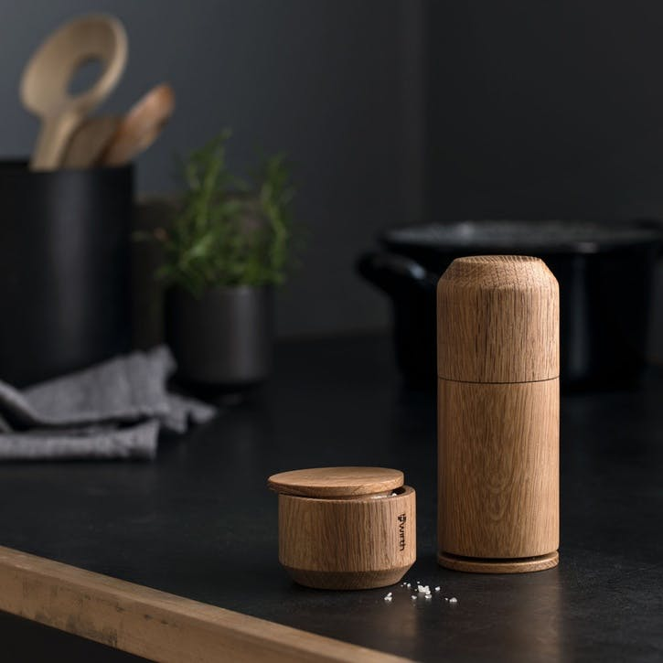 Crush Me Seasoning Grinder, Oiled Natural Oak