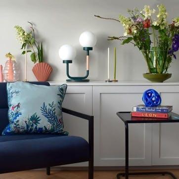 Little Darling, Table Lamp, H47 x W35 x D23cm, Bluegreen