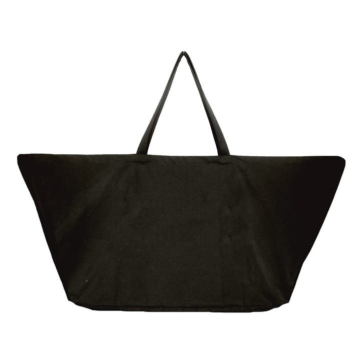 Canvas Big Long Bag, L100 x W50 x H35cm, Black