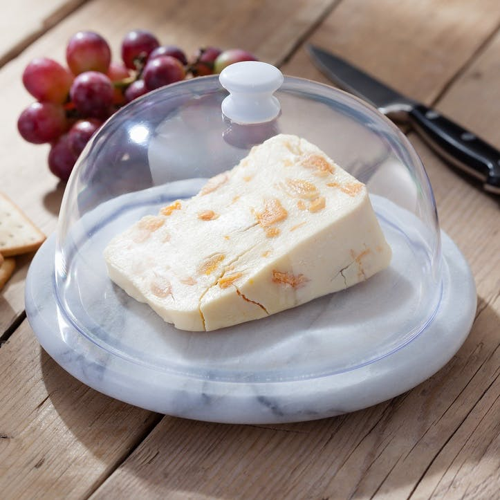 Marble Cheese Board & Dome