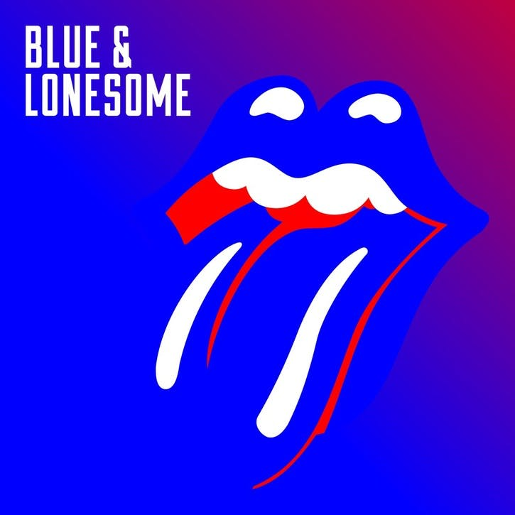 "The Rolling Stones, Blue & Lonesome 12"" Vinyl"