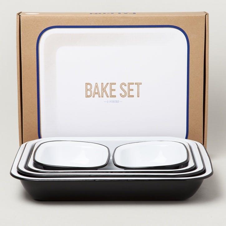 Bake Set, Coal Black
