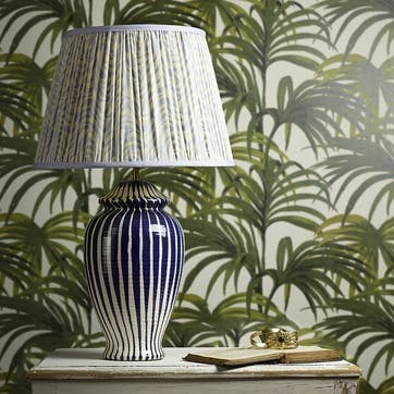 Lottie Table Lamp, Regular, Cobalt, 44cm