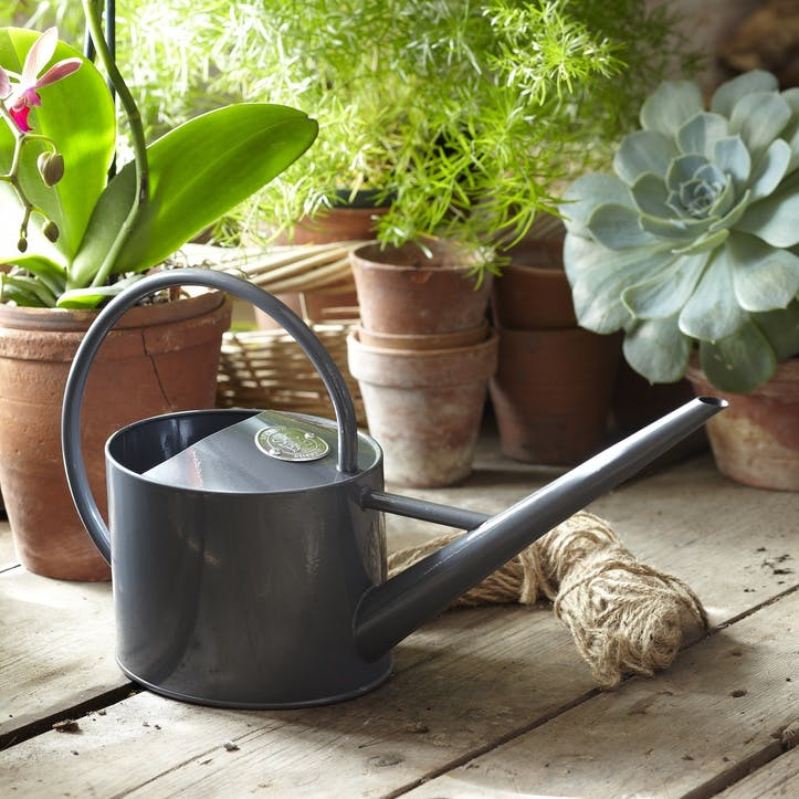 Indoor Watering Can, Grey