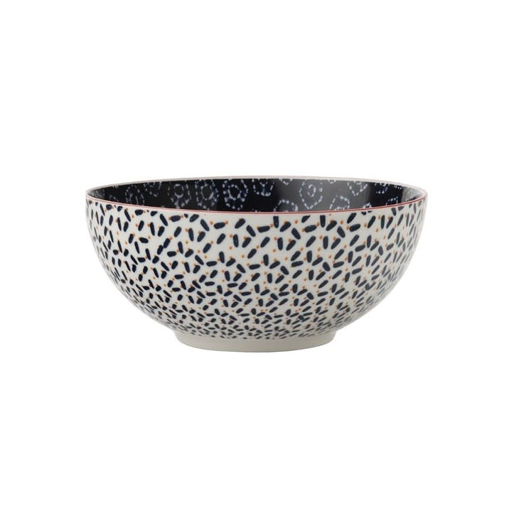 Boho Nibble Bowl, Navy