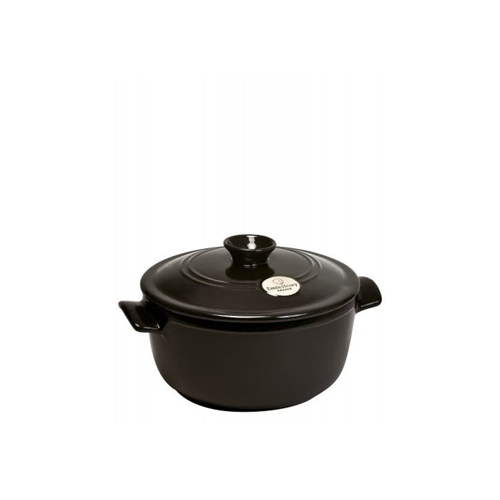 Round Stewpot - 2.5L; Charcoal