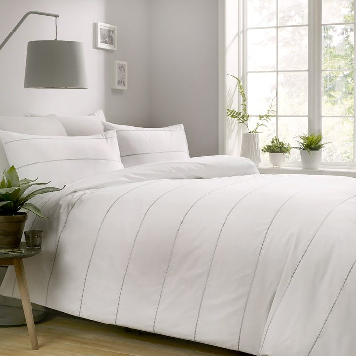 Ashbury Bedding Set, Double, White