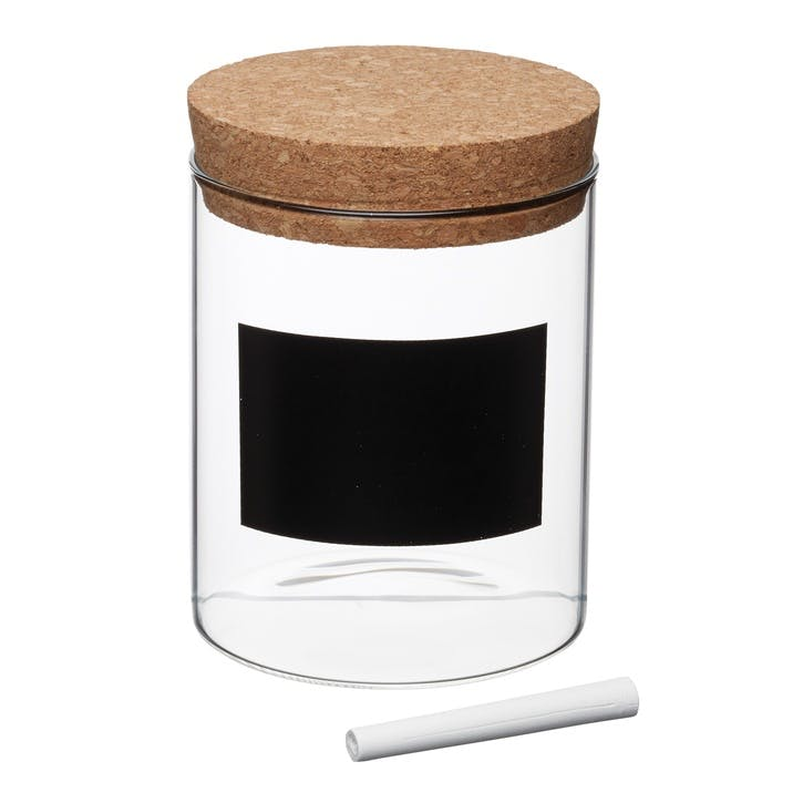 Natural Elements Glass Storage Canister, Small