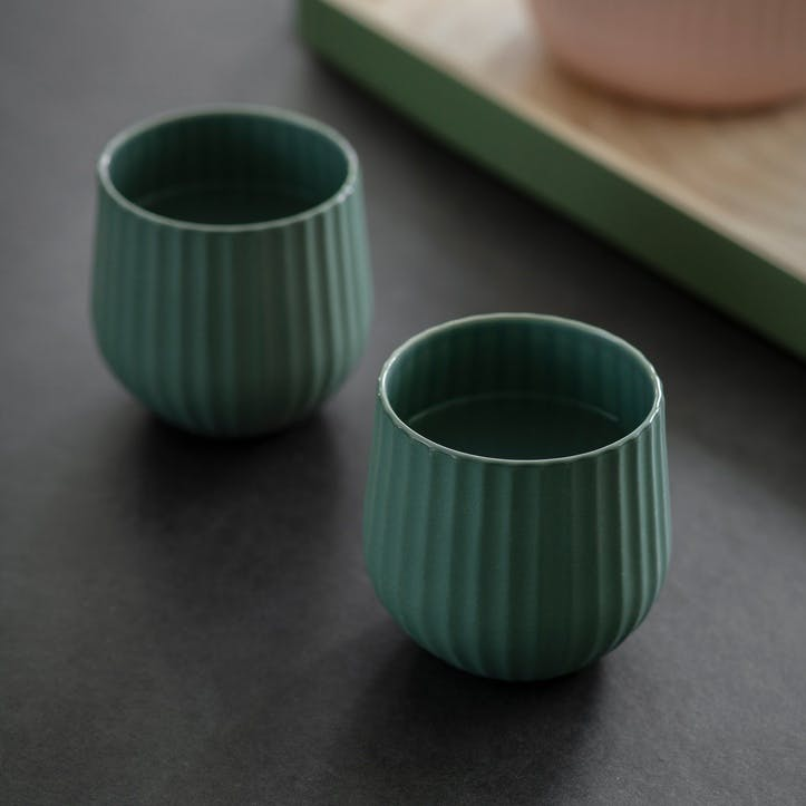 Linear Tumblers Set of 2, Rosemary
