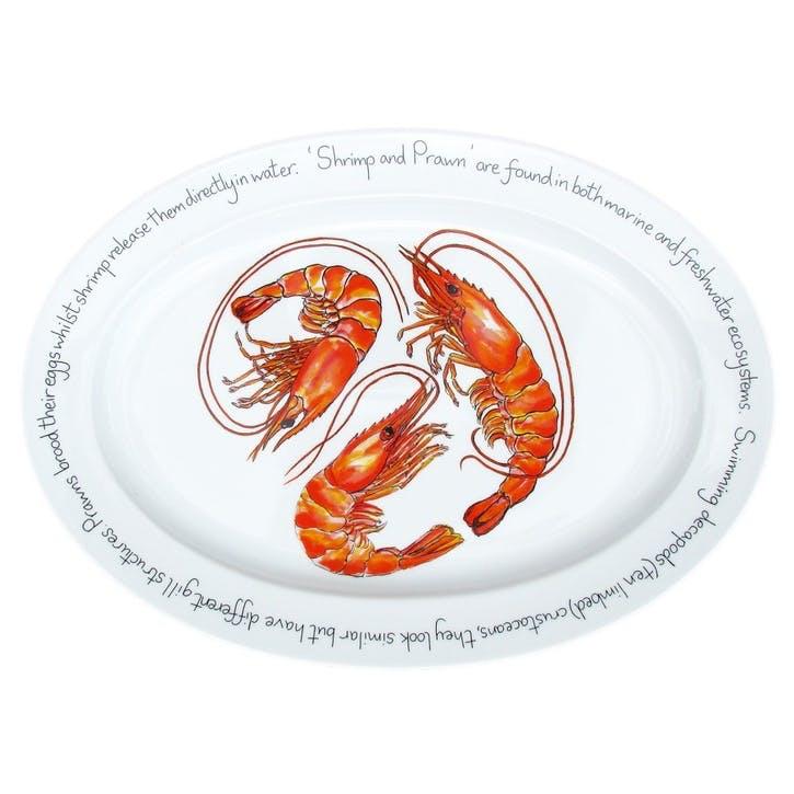 Shrimp & Prawn Oval Plate - 39cm