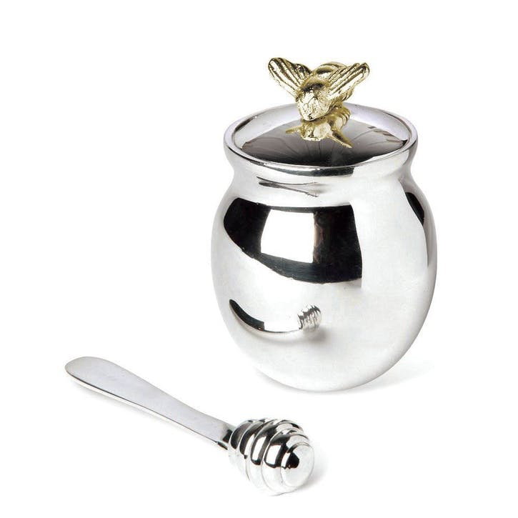 Bee, Honey Pot with Spreader