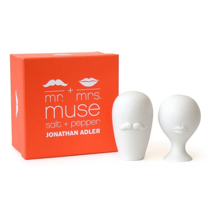 Mr & Mrs Salt & Pepper Shakers