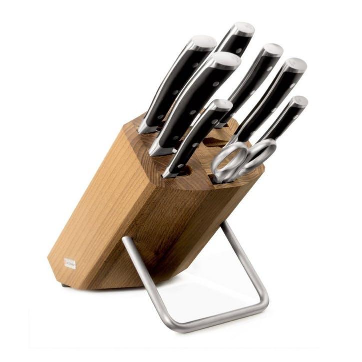 Classic Ikon Knife Block Set - 8 Piece