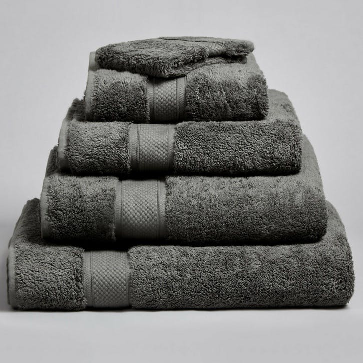Shinjo Face Towel, Grey